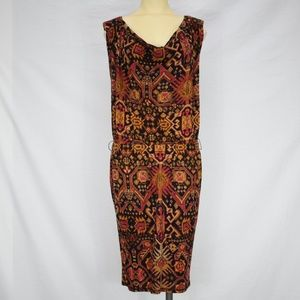 Rachel Roy | Multi Colored Symmetrical Dress S